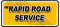 Rapid Road Service logo